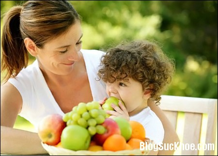 be Bổ sung vitamin cho trẻ