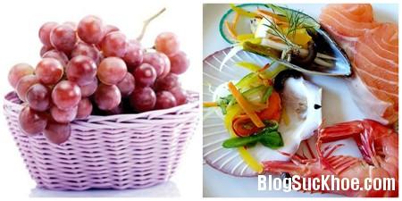 haisannho Những cách kết hợp thực phẩm dễ gây tiêu chảy