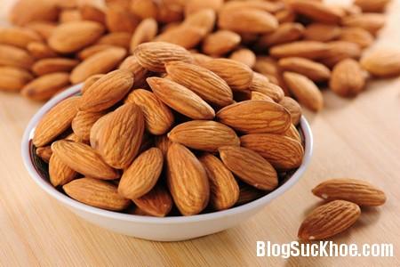 hanh nhan Giảm béo bằng cách ăn 30 hạt hạnh nhân mỗi ngày