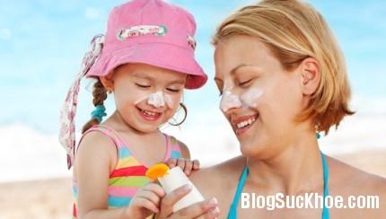 kemchongnang Dùng kem chống nắng cho an toàn