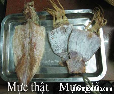 muc c9767 Rợn người thực phẩm làm giả từ sắn dây, cao su