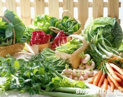 rau5 Chăm sóc bộ não bằng thực phẩm