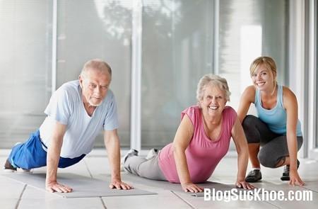 the duc3 Thể dục cho sức khỏe người cao tuổi