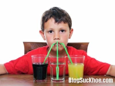 a1510 Nước ngọt có ga ngăn chặn sự phát triển của não bộ trẻ em