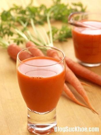 a914 Nước ép cà rốt giúp nâng cao năng lực miễn dịch, kháng khuẩn