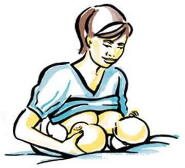 me4 5 tư thế cho bé bú giúp mẹ thoải mái