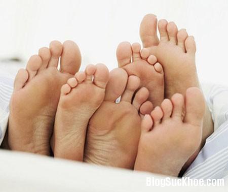 chan Các triệu chứng bất thường ở chân nên cẩn trọng