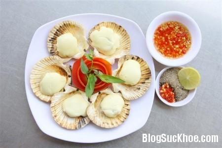 so diep 6 loại hải sản giúp bạn ngừa bệnh tim
