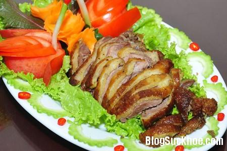 thit ngong Các món ăn bồi bổ chữa bệnh từ thịt ngỗng