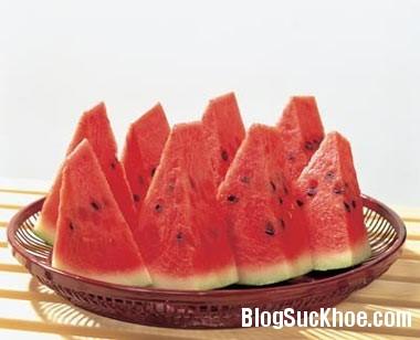 dua hau3 Lưu ý 10 điều cấm kỵ khi ăn dưa hấu
