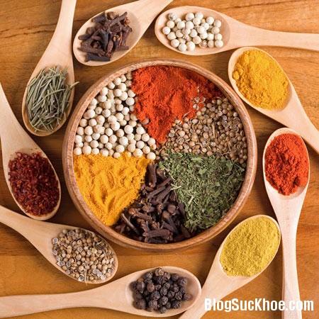 gia vi1 10 loại gia vị giúp hệ tiêu hóa của bạn luôn khỏe mạnh