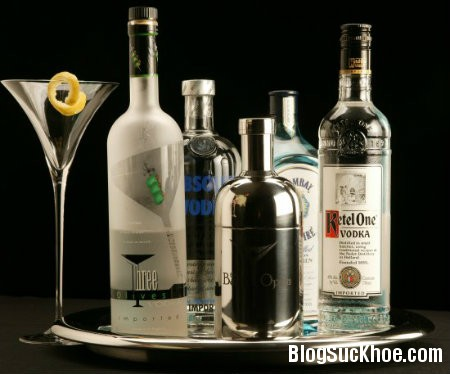 ruou Những công dụng tuyệt vời chưa biết của rượu Vodka
