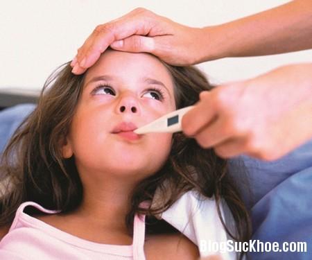 sot Triệu chứng trẻ sốt do virut