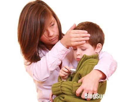 sot1 Những dấu hiệu khi bé bị sốt do virus