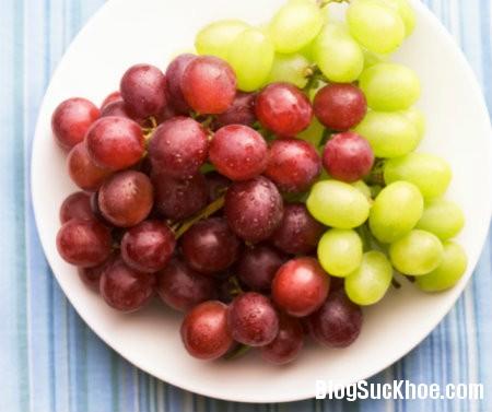 nho1 Các loại quả nên ăn trong mùa thu