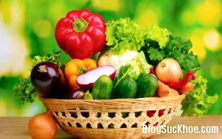 rau5 Lợi ích khi ăn rau quả tươi