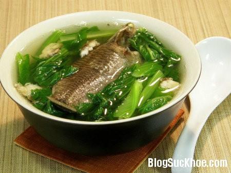 canh2 Một số món ăn   bài thuốc từ cá rô đồng