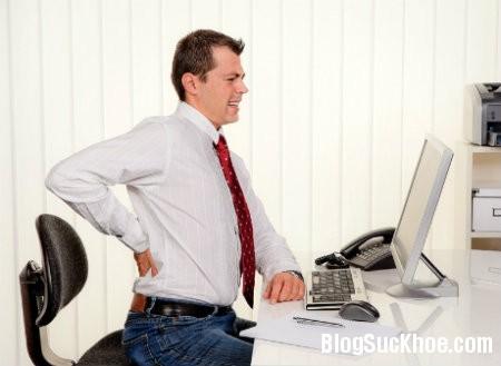dau lung1 Bệnh đau lưng ở giới văn phòng