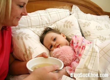 be8 Ngăn chặn sốt virus lúc giao mùa cho trẻ