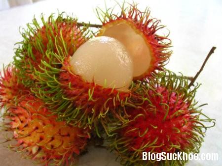 chom chom2 Lợi ích sức khỏe từ trái chôm chôm