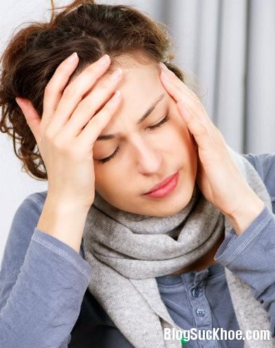 dau dau11 Các loại đau đầu thường gặp