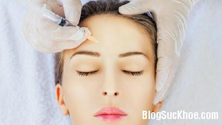 tiem Tiêm thuốc căng da mặt có thể gây hỏng thị lực