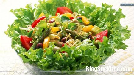 rau1 Chế độ ăn uống khi bị đa nang buồng trứng