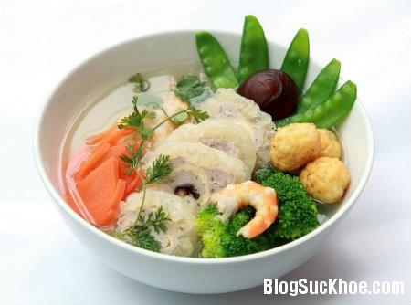 bong ca Món ăn từ bong bóng cá bổ thận cố tinh