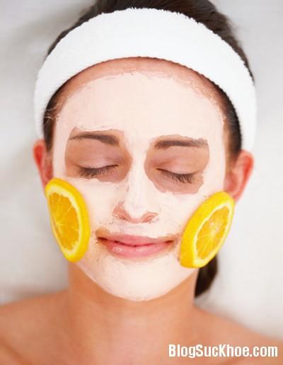 cam Cách chăm sóc da mặt tuyệt vời từ trái cam