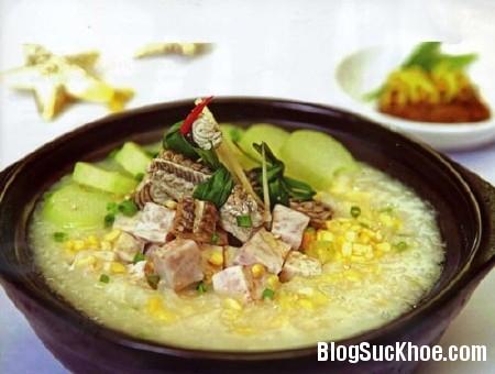 chao7 Món ăn bài thuốc từ con lươn