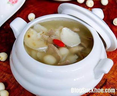 sen Món ăn bài thuốc an thần từ hạt sen