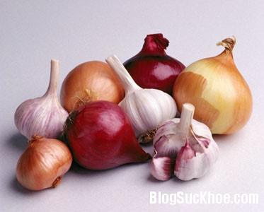 hanh1 Thực phẩm giúp ngừa dị ứng trong mùa thu
