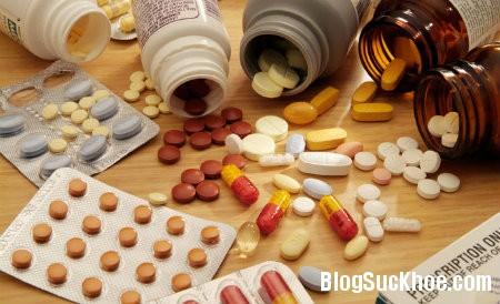 thuoc1 Các loại thuốc phổ biến có thể gây hại cho sức khỏe