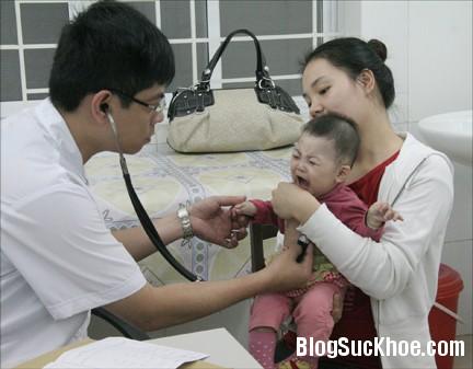 benh3 Phòng bệnh viêm đường hô hấp cho trẻ trong mùa lạnh