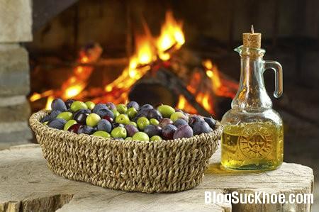 dau olive Trị mụn hiệu quả bằng các loại tinh dầu