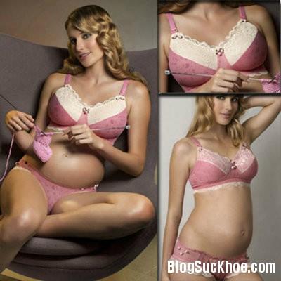 1100 Giúp mẹ bầu giảm đau ngực khi mang thai