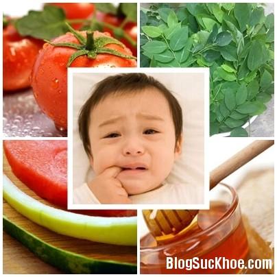 121 Cách chữa nhiệt miệng cho bé từ các bài thuốc dân gian