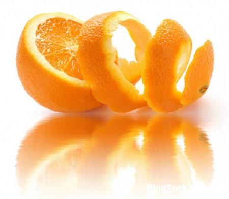 1263 Tẩy da chết bằng vỏ cam