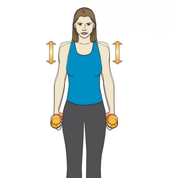 1545 3 động tác thể dục hạn chế tình trạng đau mỏi cổ