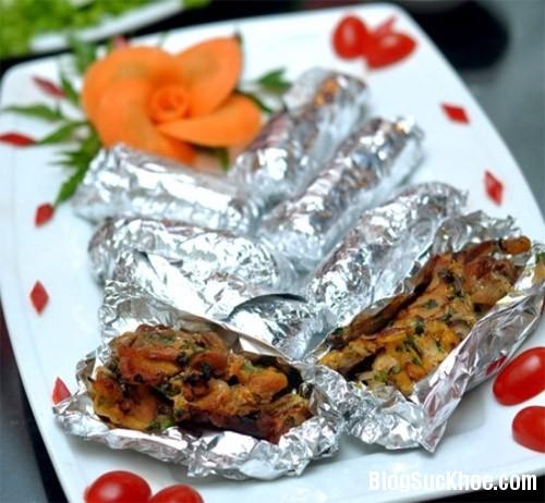 1124 Những lưu ý khi dùng giấy bạc nướng đồ ăn
