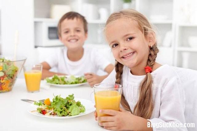 1212 Thời khóa biểu bổ sung dinh dưỡng cho trẻ khi ở trường