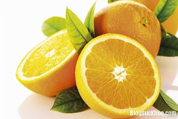 1160 Một số bài thuốc chữa bệnh từ trái cam
