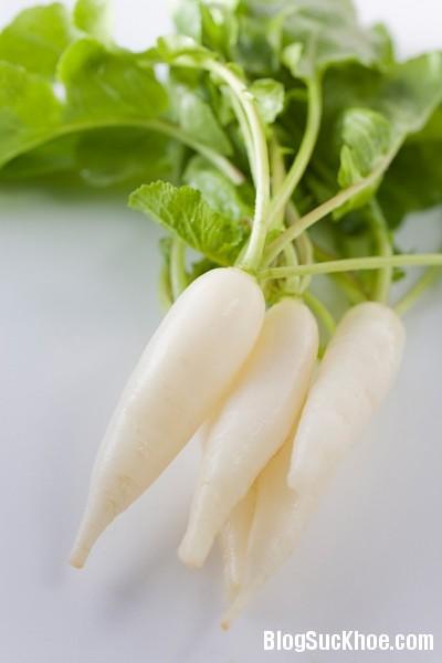 Lý do củ cải trắng được coi là nhân sâm mùa đông