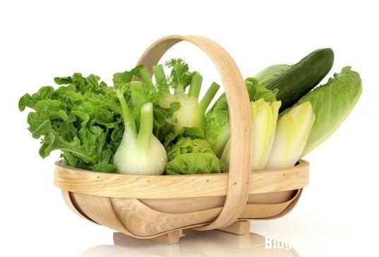 1325 Lợi ích sức khỏe của rau xanh