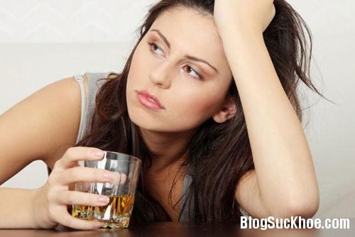 126 Những tác hại của rượu với làn da bạn gái
