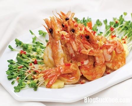 1319 4 loại hải sản giúp chị em giảm cân
