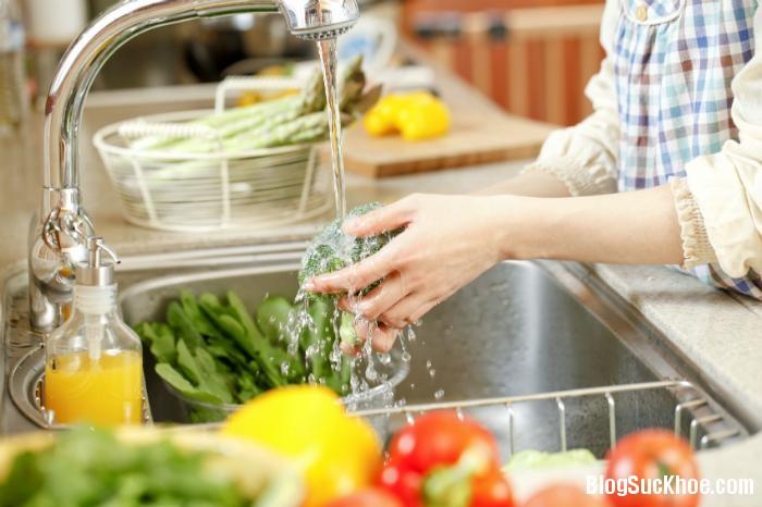 1253 Phương pháp loại bỏ thuốc trừ sâu trong rau quả