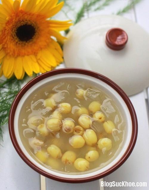 177 Món ăn bài thuốc an thần từ hạt sen