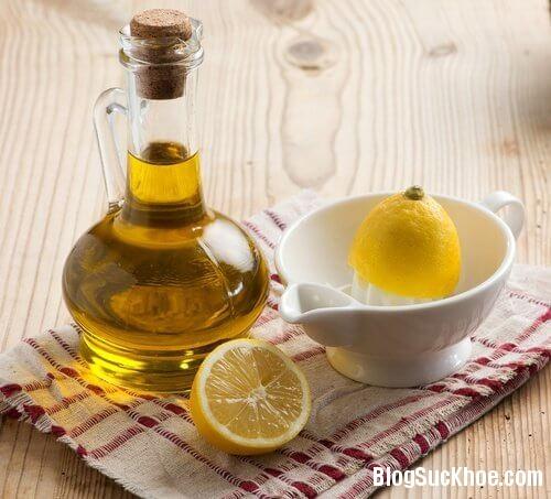 1389 9 công dụng phòng bệnh và làm đẹp từ dầu oliu + nước cốt chanh