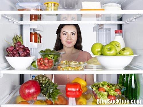 139 Những loại thức ăn không nên cho và tủ lạnh